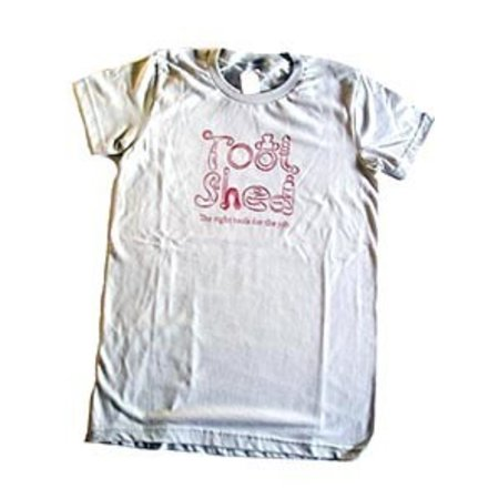 "Tool Shed Tool Shed ""Right Tools"" T-Shirt Fitted Hourglass Cut"