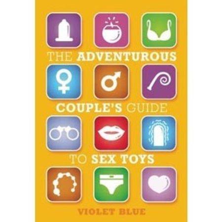 Adventurous couple guide sex toy