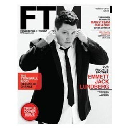 FTM Magazine FTM Magazine, Summer 2015: Emmet Jack Lundberg Cover