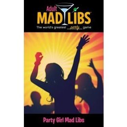 Price Stern and Sloan Party Girl Adult Mad Libs