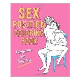 Ulysses Press Sex Position Coloring Book