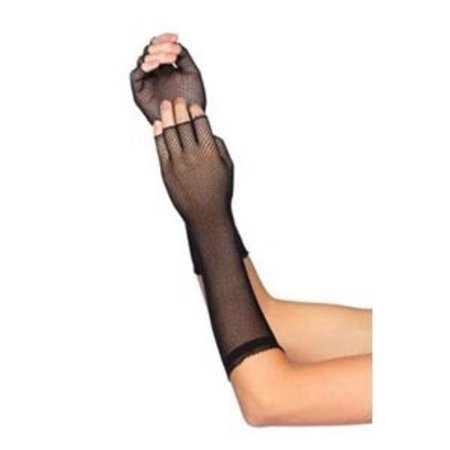 Leg Avenue Elbow Length Micronet Fingerless Gloves 2107
