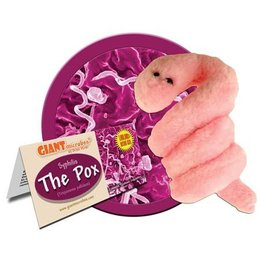 GiantMicrobes Giant Microbes, Syphilis (Pox), Small
