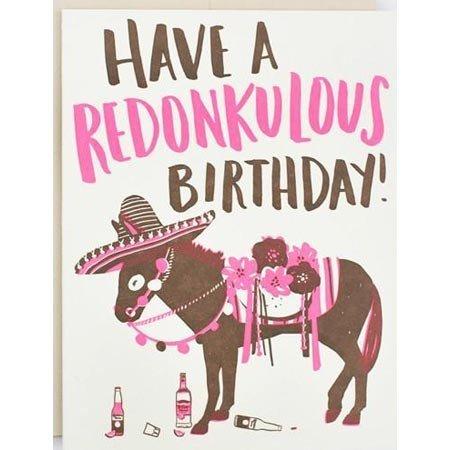HelloLucky Redonkulous Birthday Greeting Card
