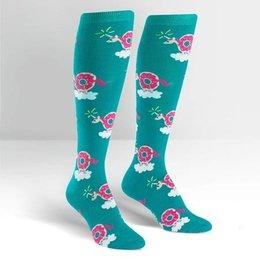 Sock It To Me Donuticorn Knee Socks
