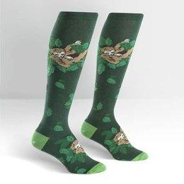 Sock It To Me Sleepy Sloth Knee Socks