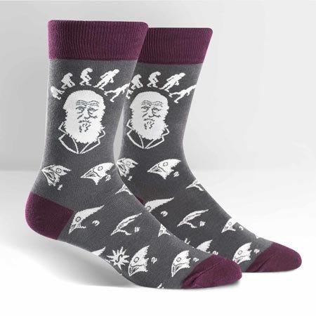 Sock It To Me Darwin Strong Crew Socks