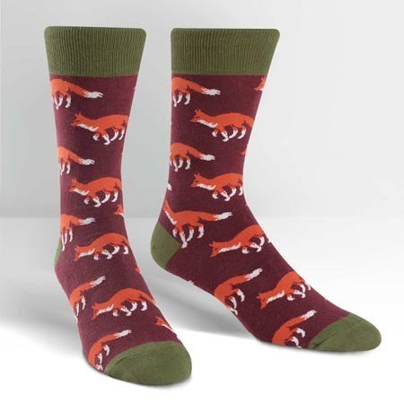Sock It To Me Fox Run Crew Socks