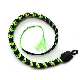 Katana Works Katana Works 2 foot Paracord Whip, Black/Neon Green