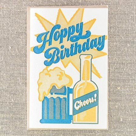 Pike Street Press Hoppy Birthday Greeting Card