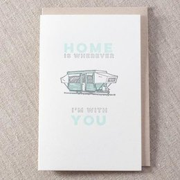 Pike Street Press Home with You Greeting Card