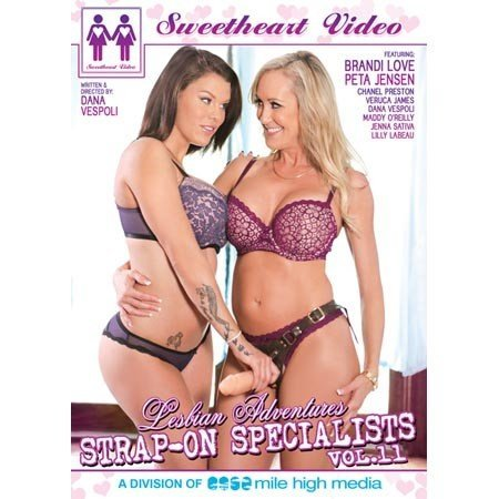 Sweetheart Video Lesbian Adventures Strap-On Specialists 11 DVD