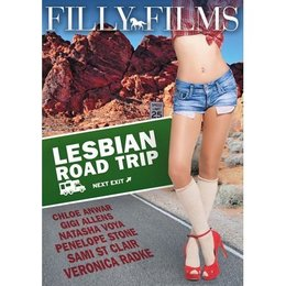 Filly Films Lesbian Roadtrip DVD