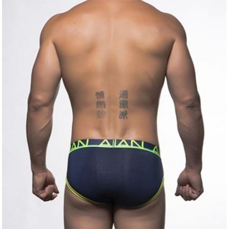 Andrew Christian Andrew Christian 90173 CoolFlex Brief, Navy