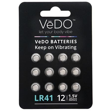 Vedo Vedo LR41 Batteries, 12-pack