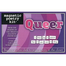 Magnetic Poetry Magnetic Poetry Kit Queer Edition
