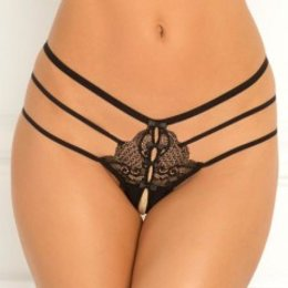 Rene Rofe Wanted and Wild Crotchless Panty 1126
