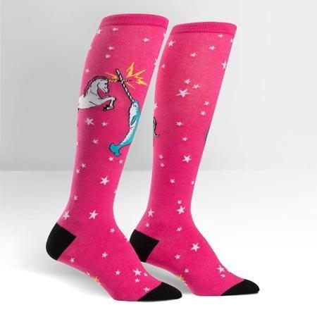 Sock It To Me Unicorn vs. Narwhal Socks