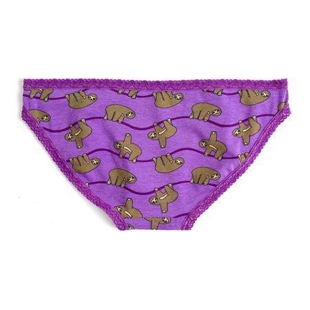 Sock It To Me Sloths Underwear, Bikini