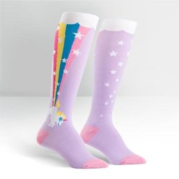 Sock It To Me Rainbow Blast Knee Socks
