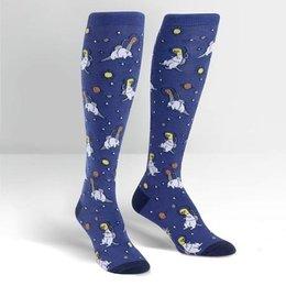 Sock It To Me Dinos In Space Knee Socks
