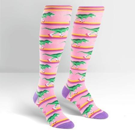 Sock It To Me Rawr-ler Rink Socks