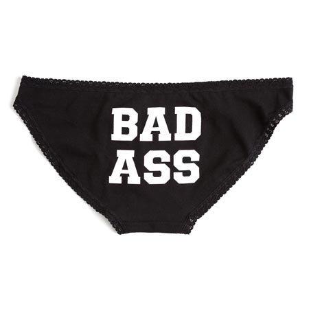 Sock It To Me Badass Underwear, Bikini