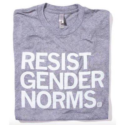 Raygun Resist Gender Norms T-Shirt Classic Cut
