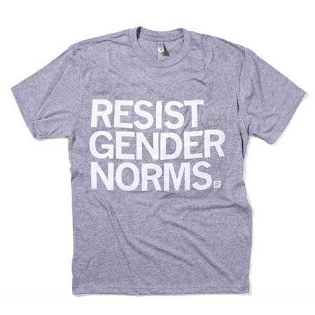 Raygun Resist Gender Norms T-Shirt Classic Cut