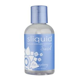 Sliquid Sliquid Swirl Flavored, Blue Raspberry