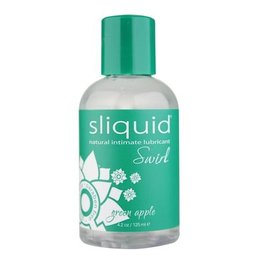 Sliquid Sliquid Swirl Flavored, Green Apple