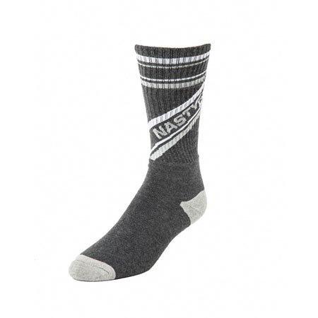 Nasty Pig Nasty Pig Speed Demon Socks, Gray