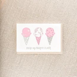 Pike Street Press Favorite Flavor Greeting Card
