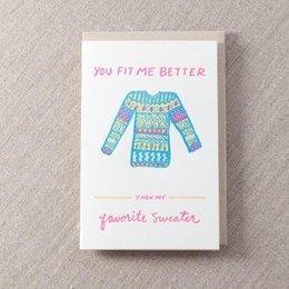 Pike Street Press Favorite Sweater Greeting Card