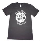 Tool Shed Tool Shed T-Shirt Classic Cut, Asphalt