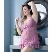 Oh La La Cheri Valentine Babydoll 2139, Mesa Rosa