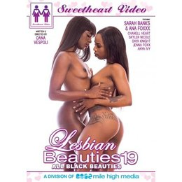 Sweetheart Video Lesbian Beauties 19 All Black Beauties DVD