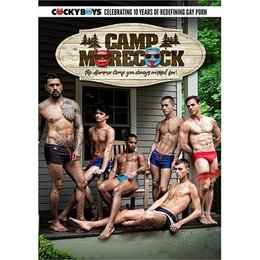 Cockyboys Camp Morecock DVD