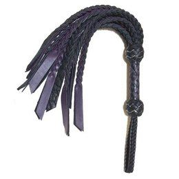 Whispers of Fire Whispers of Fire S710616 Double Flat Cat Flogger