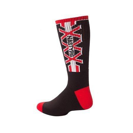 Nasty Pig Nasty Pig XXX Socks 7395, Black/Red