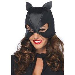 Leg Avenue Bondage Cat Mask with Lace Up Back 2625