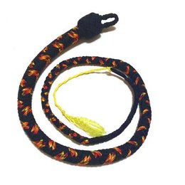 Katana Works Katana Works 3 foot Paracord Whip, Black/Fire