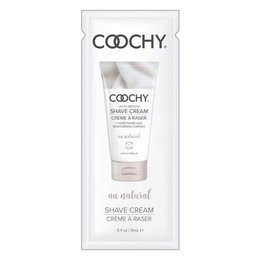 Classic Erotica Coochy Shave Cream, Au Natural Pillow Pack