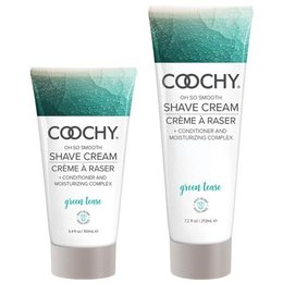Classic Erotica Coochy Shave Cream, Green Tease