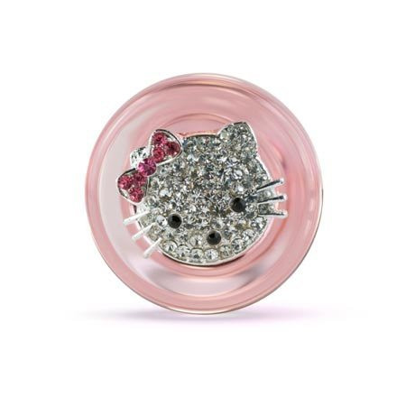 Crystal Delights Crystal Delights Hello Kitty Plug, Pink