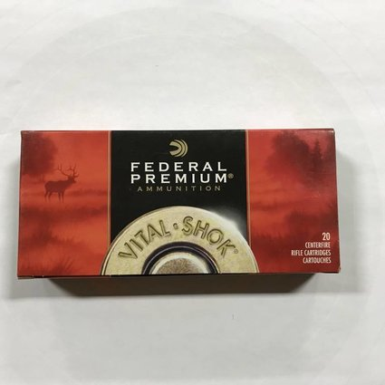 Federal 25-06 rem 100gr nosler bt