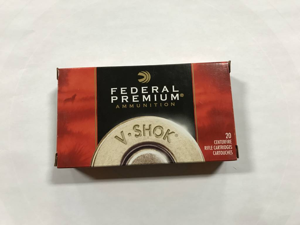 Federal 223 rem 40gr nosler bt