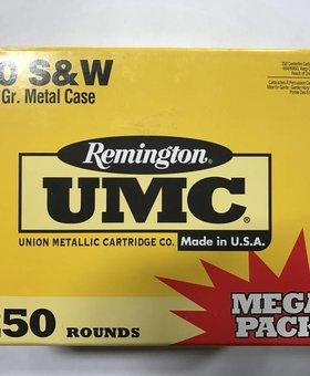UMC 40 S&W 180 gr 250 ct.