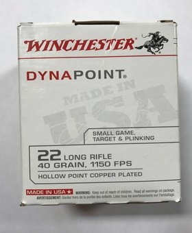 Winchester 22 l.r. 40 gr hp Dynapoint