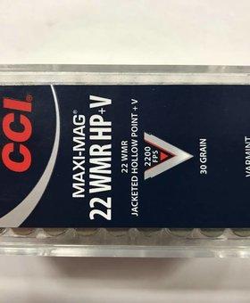 CCI 22 wmr maxi mag 30 hp